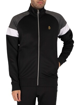 Luke 1977 Kas 3 Track Jacket - Jet Black
