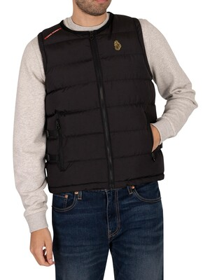 Luke 1977 UV Protection Gilet - Jet Black