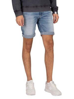 Replay New Anbass 573 Bio Denim Shorts - Light Blue