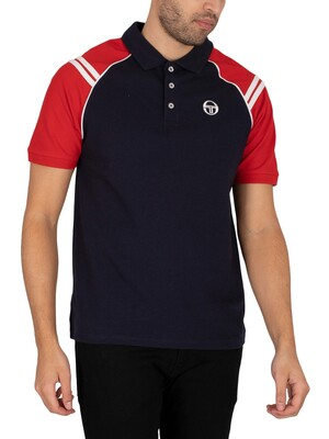 Sergio Tacchini Cortona Polo Shirt - Night Sky