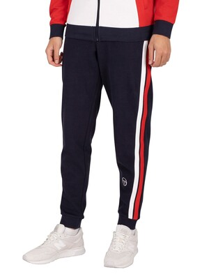Sergio Tacchini Grado Fleece Joggers - Night Sky