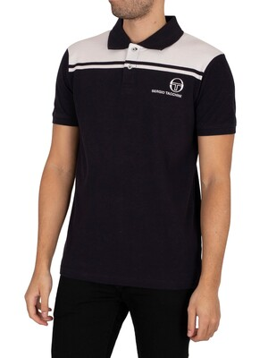 Sergio Tacchini New Young Line Polo Shirt - Night Sky