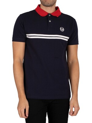 Sergio Tacchini Supermac Polo Shirt - Night Sky