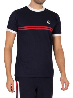 Sergio Tacchini Supermac T-Shirt - Night Sky