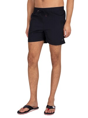 Tommy Hilfiger Medium Drawstring Slim Swim Shorts - Desert Sky