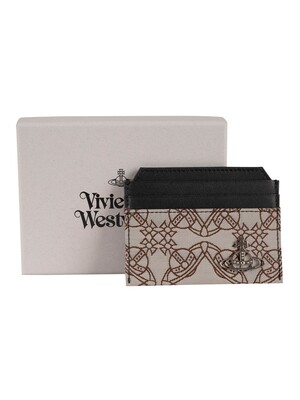 Vivienne Westwood Orbmania Slim Card Holder - Multi