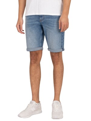 Calvin Klein Jeans Slim Denim Shorts - Light