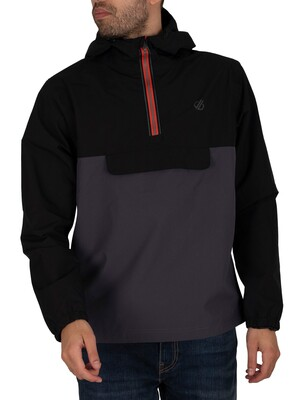 Dare 2b Ceaseless Half Zip Lightweight Jacket - Black/Ebony