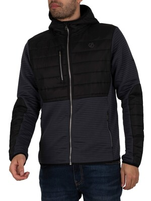 Dare 2b Narrative Full Zip Hooded Jacket - Black