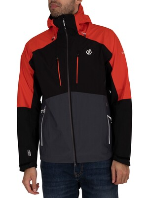 Dare 2b Soaring Waterproof Jacket - Trail Blaze/Black
