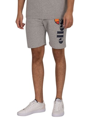 Ellesse Bossini Fleece Sweat Shorts - Grey Marl