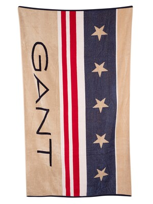 GANT Sail Beach Towel - Marine