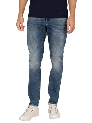 G-Star 3301 Slim Jeans - Faded Clear Sky