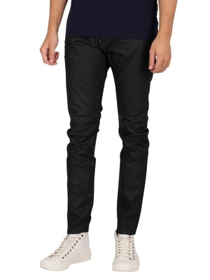 G-Star Revend Skinny Jeans - Black Pintt Stretch