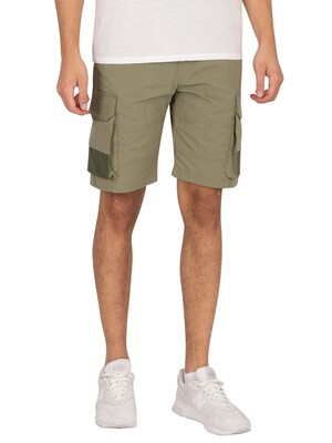 Jack & Jones Ross Cargo Shorts - Deep Lichen Green