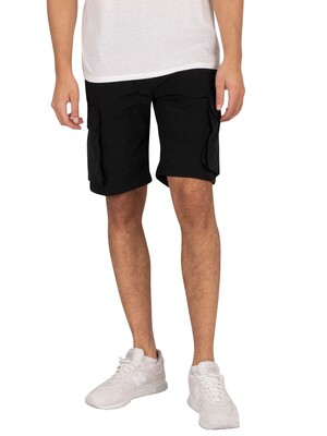 Jack & Jones Ross Cargo Shorts - Black