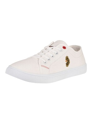 Luke 1977 Peru Canvas Trainers - White