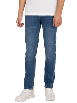 Luke 1977 Vacuum Slim Tapered Jeans - Blue Wash 2