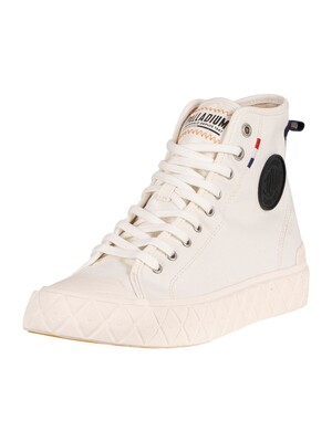 Palladium Ace Canvas Boots - Star White