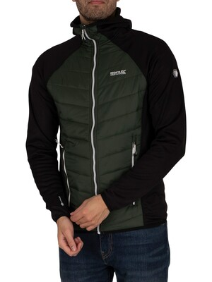 Regatta Andreson V Hybrid Insulated Quilted Jacket - Forest/Black
