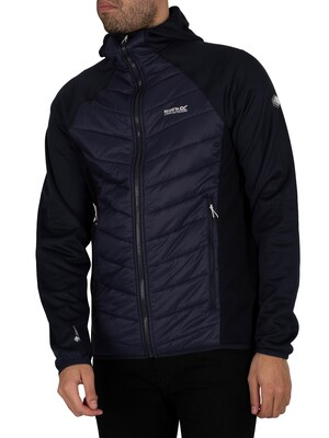 Regatta Andreson V Hybrid Insulated Quilted Jacket - Navy/Navy