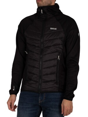Regatta Andreson V Hybrid Insulated Quilted Jacket - Black/Black