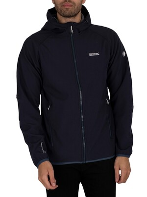 Regatta Arec II Hooded Softshell Jacket - Navy