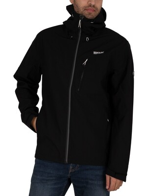 Regatta Birchdale Waterproof Jacket - Black/Magnet