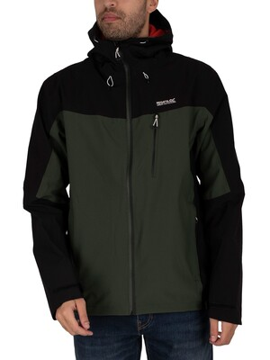 Regatta Birchdale Waterproof Jacket - Forest/Black