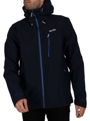Regatta Birchdale Waterproof Jacket - Navy/Nautical