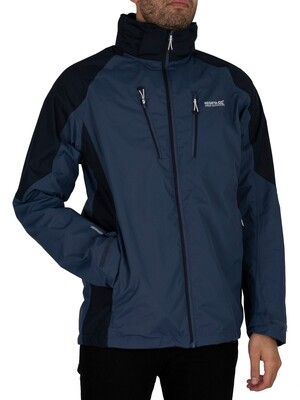 Regatta Calderdale IV Waterproof Shell Jacket - Dark Denim/Navy