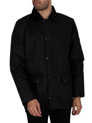 Regatta Country Water Repellent Wax Jacket - Black