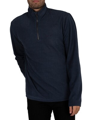 Regatta Elgor II Lightweight Half Zip Fleece - Navy