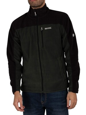 Regatta Fellard Lightweight Full Zip Track Jacket - Forest/Black