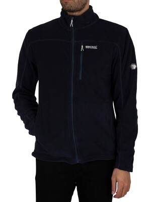 Regatta Fellard Lightweight Full Zip Track Jacket - Navy