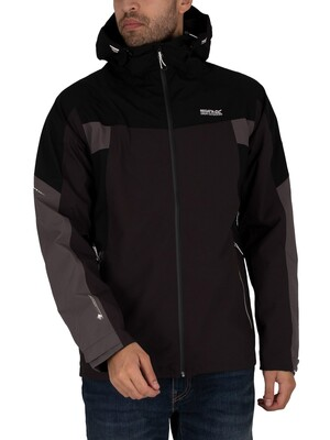 Regatta Oklahoma VI Waterproof Shell Jacket - Ash/Black