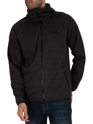 Regatta Ryedale Full Zip Hooded Marl Jacket - Ash