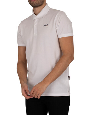 Schott James Polo Shirt - White