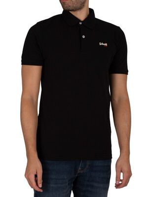 Schott James Polo Shirt - Black