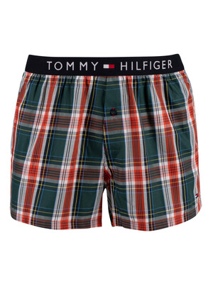 Tommy Hilfiger Woven Boxers - Holiday Archive Check