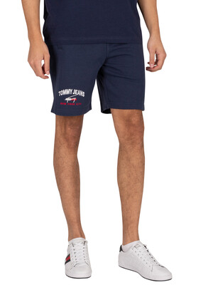 Tommy Jeans Timeless Sweat Shorts - Twilight Navy
