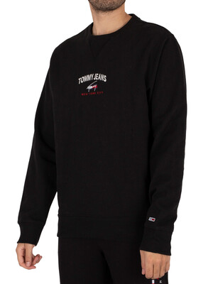 Tommy Jeans Timeless Sweatshirt - Black