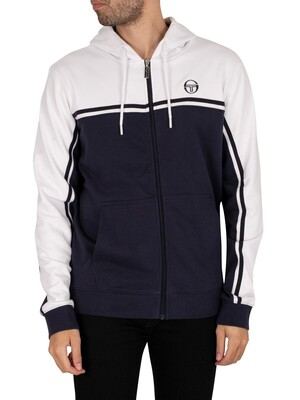 Sergio Tacchini New Young Line Zip Hoodie - Night Sky