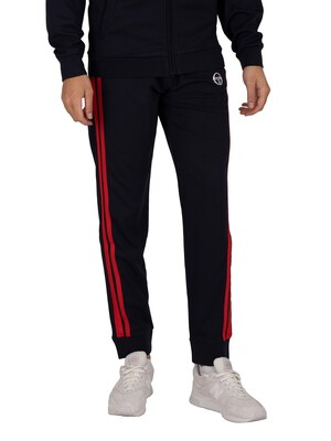 Sergio Tacchini New Damarindo Joggers - Night Sky/Red