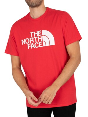 The North Face Half Dome T-Shirt - Rococco Red