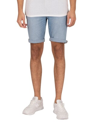 Jack & Jones Rick Original 030 Denim Shorts - Blue Denim