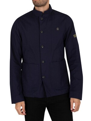 G-Star Worker Ripstop Utility Overshirt Jacket - Warm Sartho