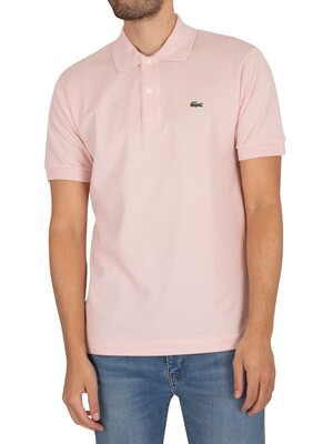 Lacoste Classic Fit Polo Shirt - Light Pink