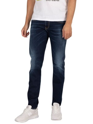 Replay Hyperflex X-Lite Jeans - Blue