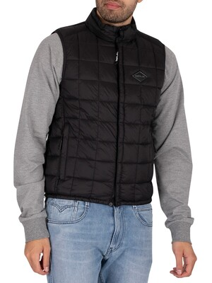 Replay Puffer Gilet - Black
